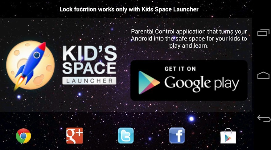 Google Kids Space Launcher (GGPHT)