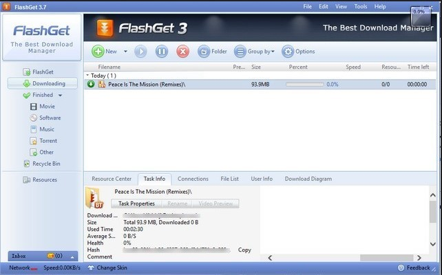 Aplikasi download manager Flashget (beebom.com)