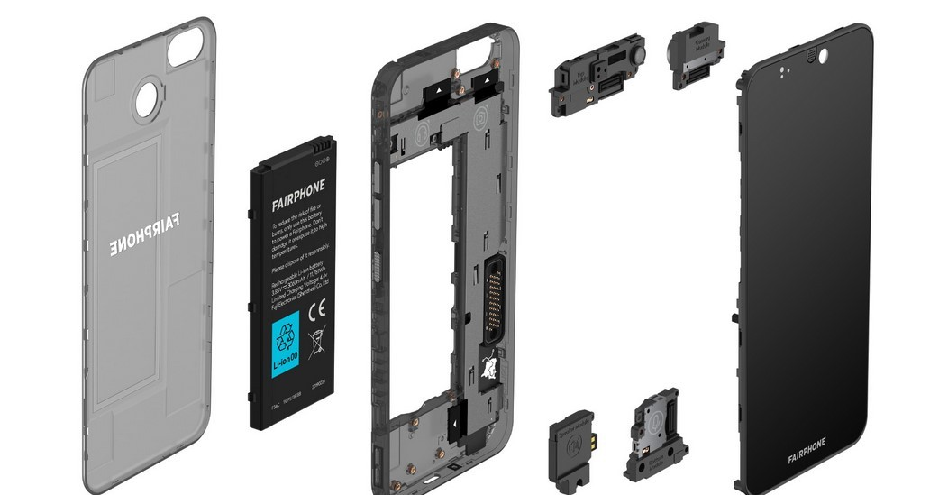 Upgrade kamera HP Fairphone (Android Authority)