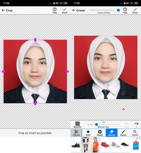 Unduh 470+ Background Biru 3X4 HD Gratis