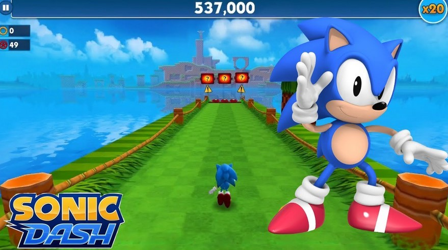 Game Sonic Dash (YouTube)