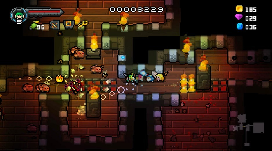 Game Wayward Souls (OrangePixel)