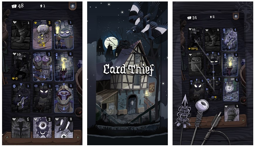 Game Card Thief (Play Store)