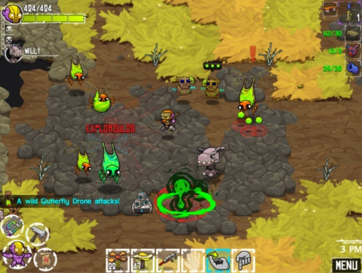 Game offline Android Crashland (Pocket Tactics)