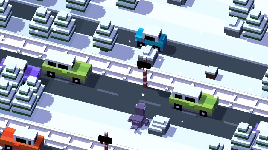 Game offline Android Crossy Road (Squarespace)