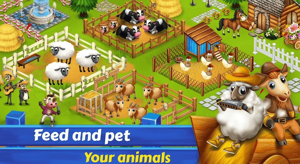 Game Big Little Farm (Play Store)