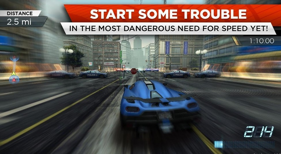 Game Android Need for Speed Most Wanted (Play Store)