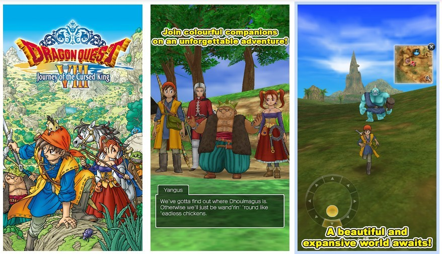 Game Dragon Quest VIII (Play Store)