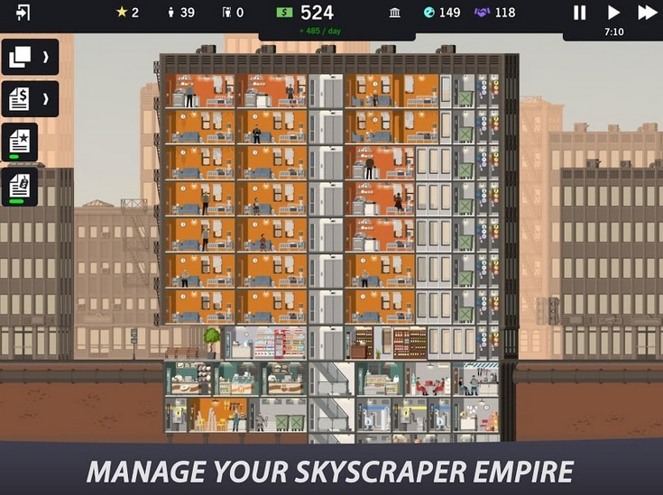 Game Project Highrise (Play Store)