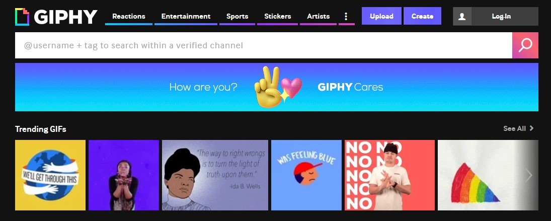 Membuat video lewat Giphy (Giphy)
