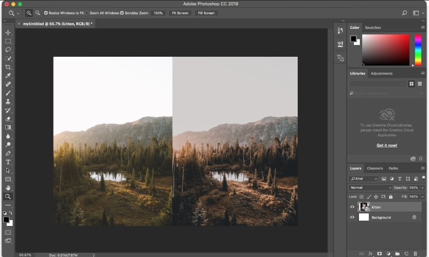 Photo Resize pada Adobe Photoshop (Resizing)